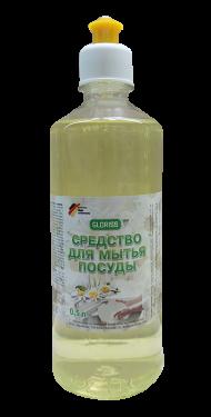 Средство для мытья посуды эко 0,5л (ромашка)