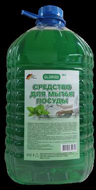 Средство для мытья посуды эко 5л (мята)