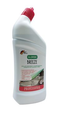 BREEZE Гель для акриловых, хромированных поверхностей и душевых кабин 0,75л