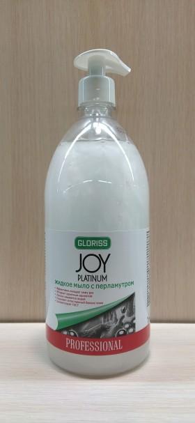 JOY PLATINUM Жидкое мыло с перламутром 1л
