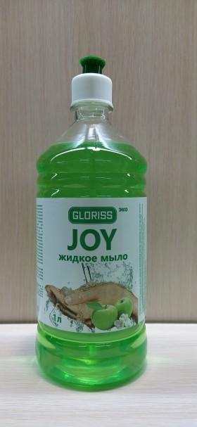 JOY эко жидкое мыло зеленое яблоко 1л