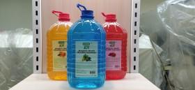 JOY эко жидкое мыло хозяйственное персик 5л