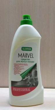 MARVEL средство для мытья посуды лимон 0,5л