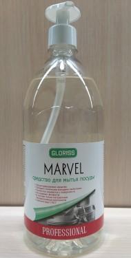 MARVEL средство для мытья посуды люкс 1л