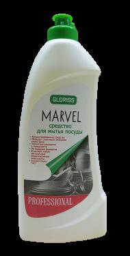 MARVEL Средство для мытья посуды 0,5л (лимон)