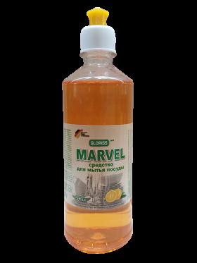 MARVEL эко средство для посуды 0,5л (апельсин)