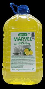 MARVEL эко средство для мытья посуды 5л (лимон)