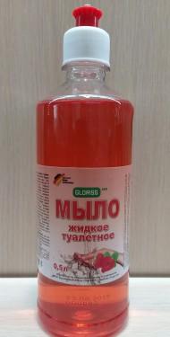 Мыло жидкое туалетное клубника 0,5л
