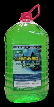 """""""НЕЗАМЕРЗАЙКА"""" Стеклоомывающая жидкость -10°С(зеленая)"""